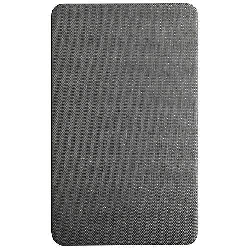 Anti-fatigue Sparkle Grey 18-inch x 30-inch Indoor Mat