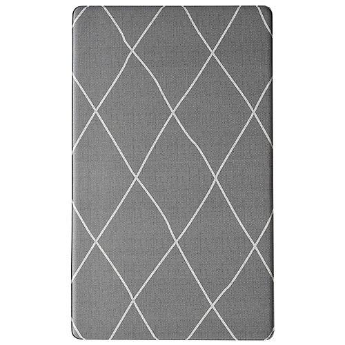 Anti-fatigue Cairo Grey 18-inch x 30-inch Indoor Mat