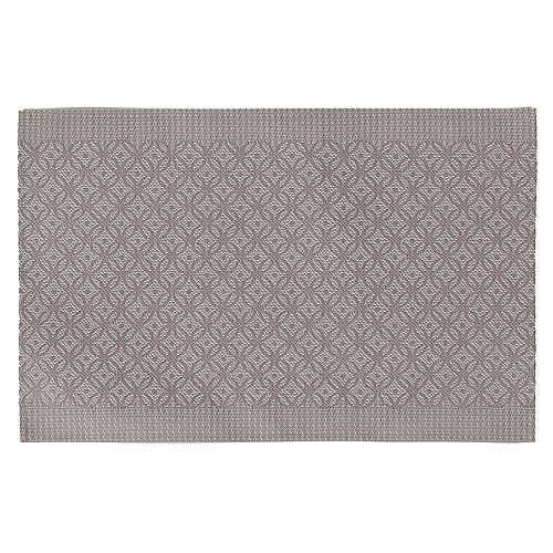 IH Casa Decor VINYL PLACEMAT (COINLINK) (TAUPE)(SET OF 12)