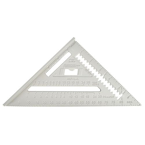7 inch Johnny Square Professional Aluminum Rafter Square
