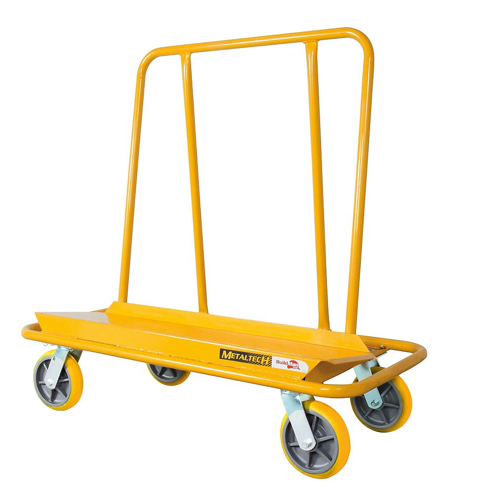 Metaltech Pro Drywall Cart 3000 Lb Capacity The Home Depot Canada