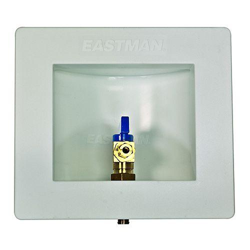 Boîte pour appareil à glaçons en polyéthylène réticulé de 1,27 cm