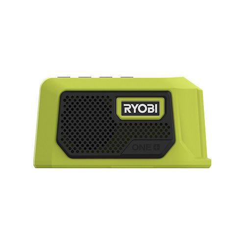 RYOBI 18V One+ Mini Bluetooth Speaker