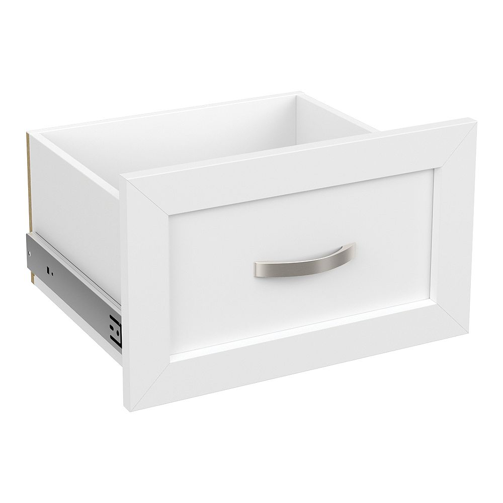 ClosetMaid Style+ 10 in. H x 16 in. W White Melamine Shaker Drawer Kit for 16 in. W Tower