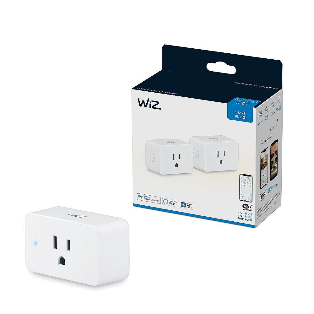 Philips WiZ WiFi Smart Plug (2-Pack)