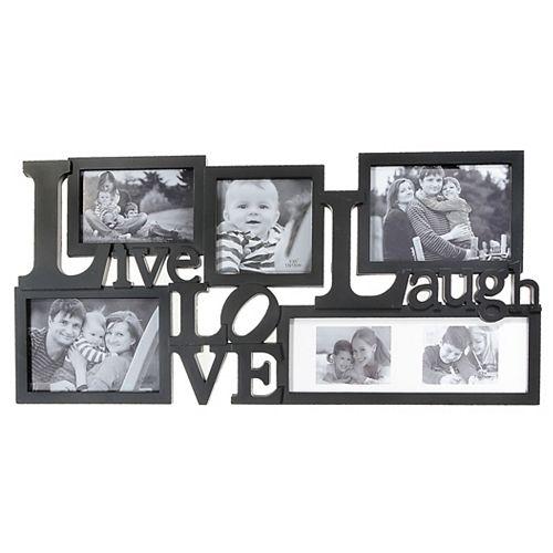 Cadre photo - rire vivant d'amour