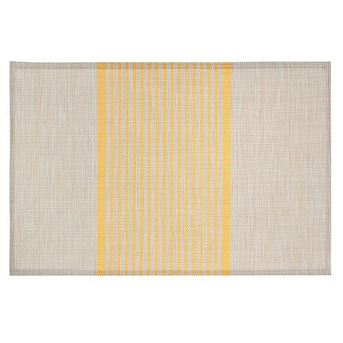 IH Casa Decor Vinyl Placemat (Cordial) (Yellow)