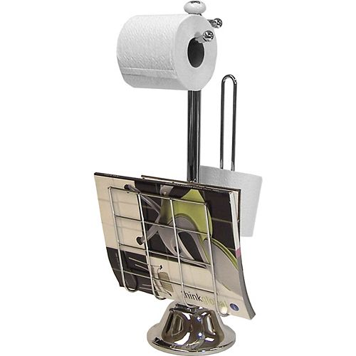 IH Casa Decor Magazine & Toilet Paper Holder