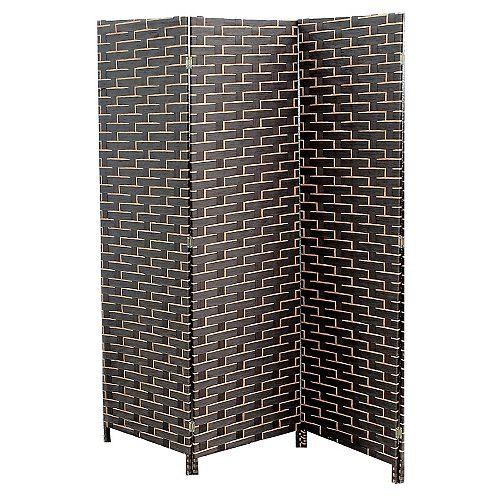 3 Panel Woven Bamboo Screen -Mason