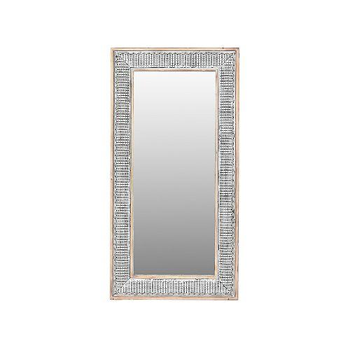 Wooden Ornate Mirror