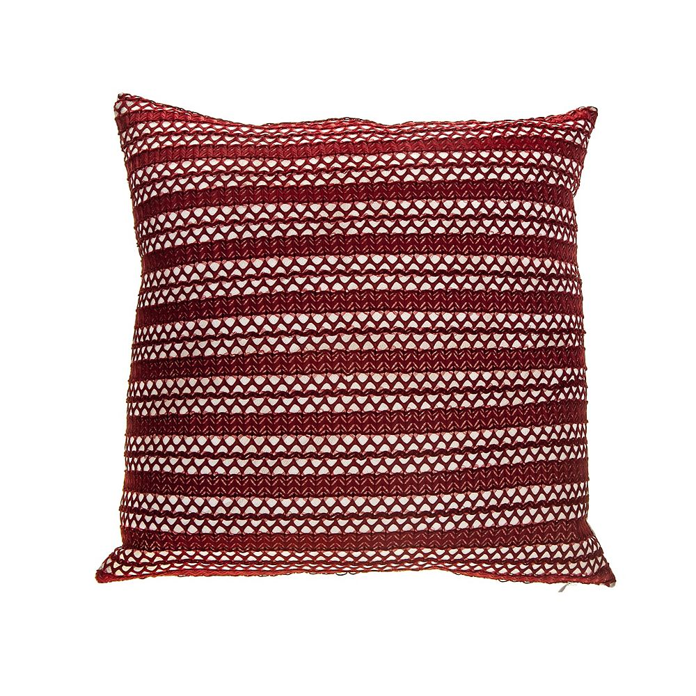 Ih Casa Decor Serene Filled Cushion Set Of 2 The Home Depot Canada