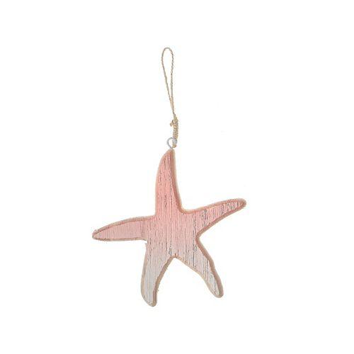 Coastal Wood Starfish Decor (Small)