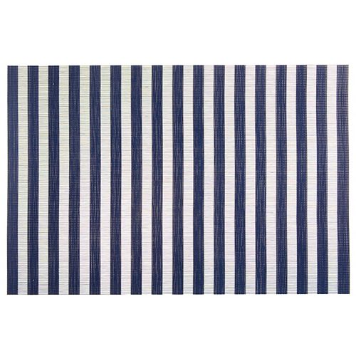 IH Casa Decor Vinyl Placemat (Fresh) (Navy Blue)(Set Of 12)