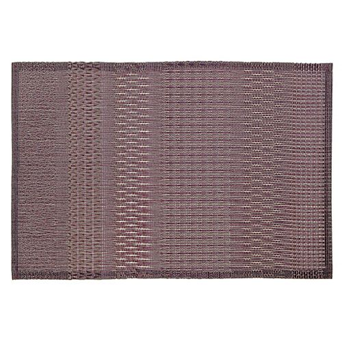 IH Casa Decor Vinyl Placemat (Aztec) (Purple)(Set Of 12)