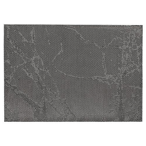 IH Casa Decor Vinyl Placemat (Marble) (Charcoal)(Set Of 12)
