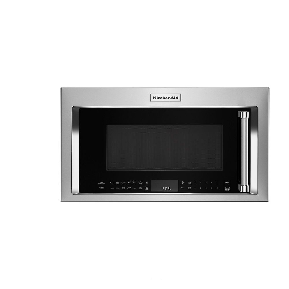 KitchenAid 1.9 cu. ft. Over the Range Convection Microwave Hood in PrintShield Stainless Steel