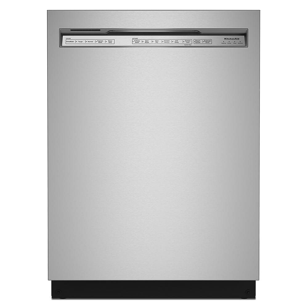KitchenAid Front Control Dishwasher with 3rd Rack in Stainless Steel with Stainless Steel Tub, 39 dBA - ENERGY STAR®