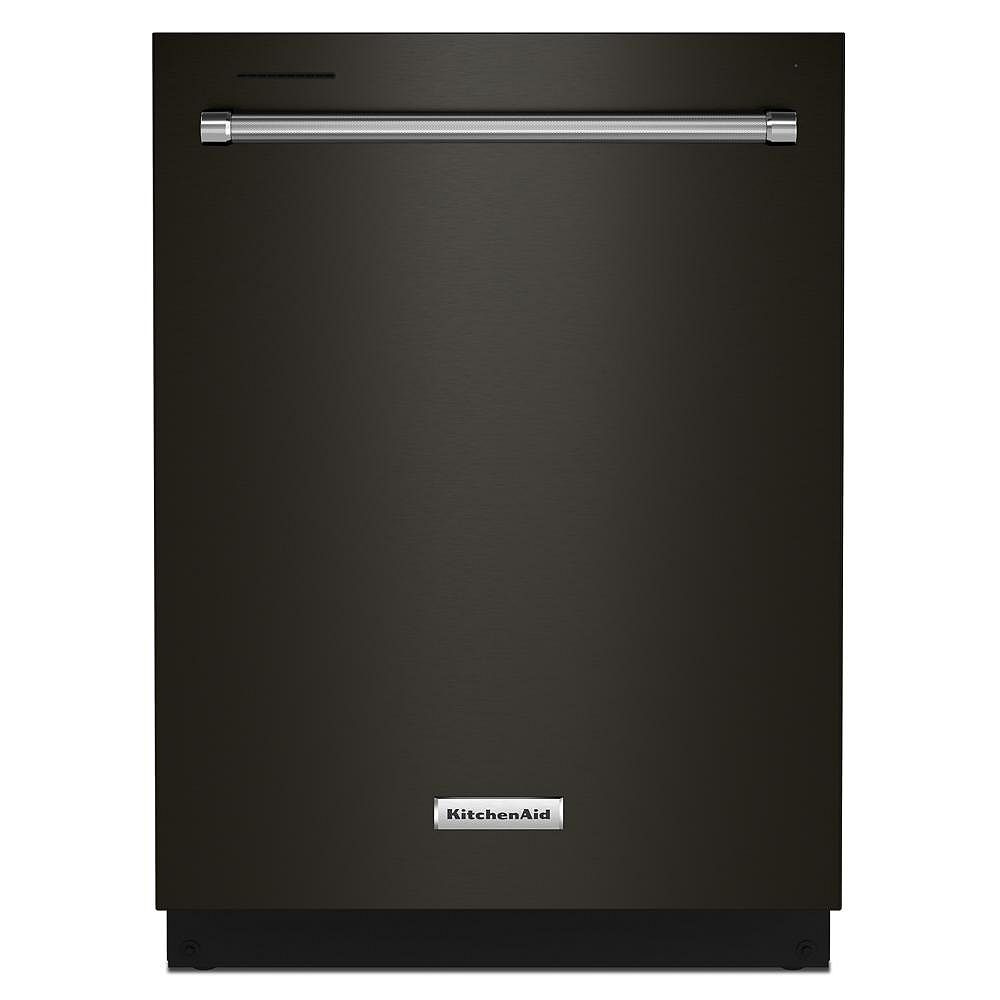 KitchenAid Top Control Dishwasher with 3rd Rack in Black Stainless Steel with Stainless Steel Tub, 39 dBA - ENERGY STAR®