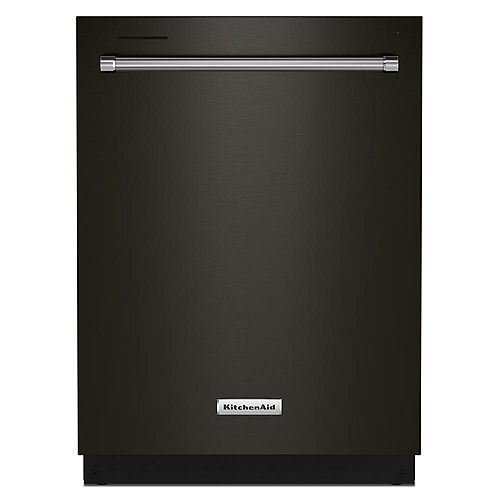 Top Control Dishwasher in Black Stainless Steel, Stainless Steel Tub - 3rd Rack 39 dBA-ENERGY STAR®
