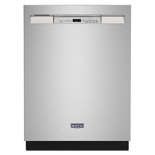 Front Control Dishwasher in Stainless Steel, Stainless steel tub-Dual Power filtration- ENERGY STAR®