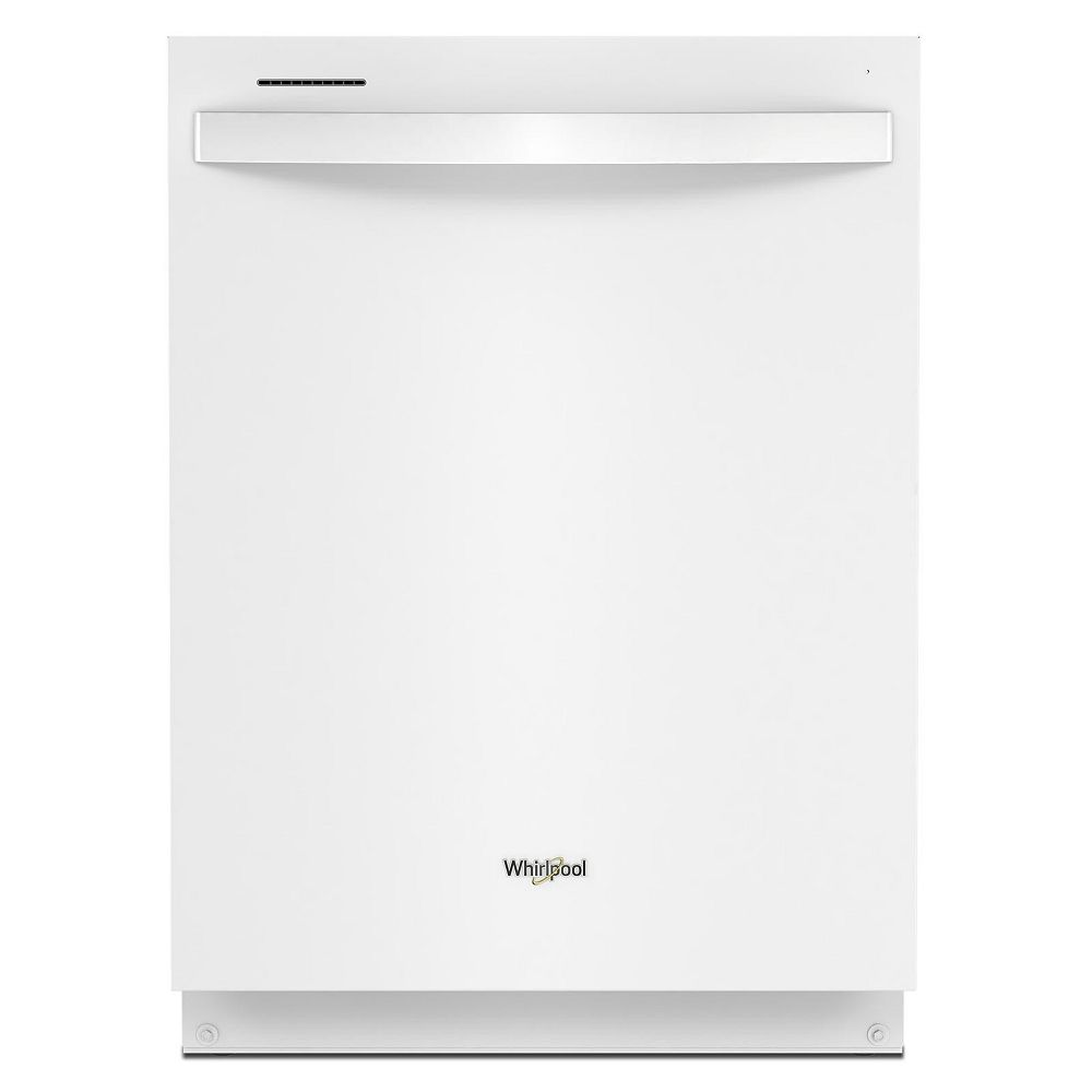 Whirlpool Top Control Large Capacity Dishwasher with 3rd Rack in White with Stainless Steel Tub, 47 dBA - ENERGY STAR®