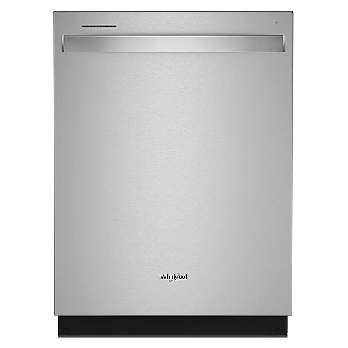 Top Control Large Capacity Dishwasher in Stainless Steel, Stainless steel tub-3rd Rack- ENERGY STAR®