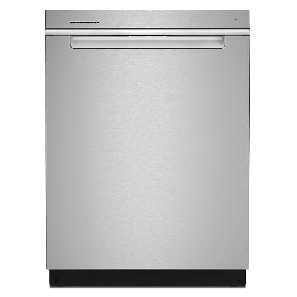 Whirlpool Top Control Large Capacity Dishwasher in Stainless Steel, Stainless steel tub-3rd Rack- ENERGY STAR®