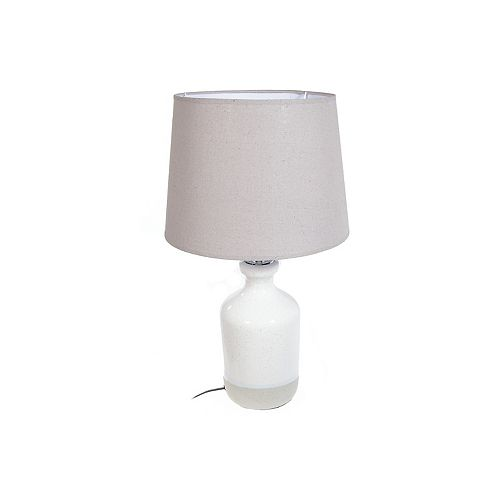 Ceramic Table Lamp With Shade (Tranquil)
