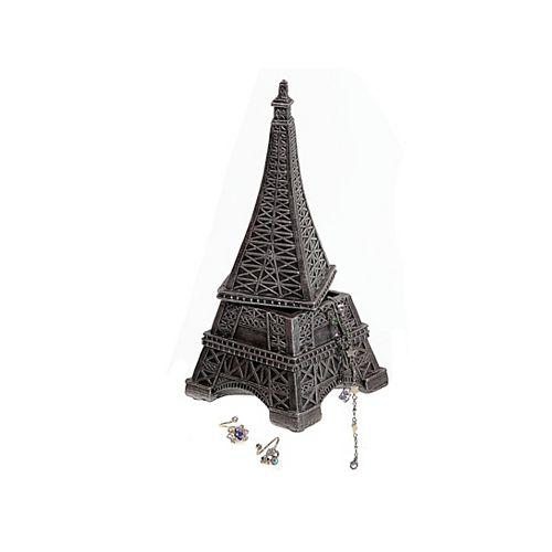 Polyresin Eiffel Tower Jewelry Box