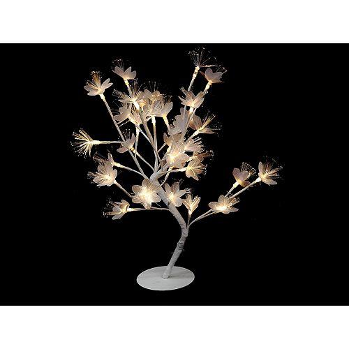 IH Casa Decor Led Mini White Flower Tree - Warm Light