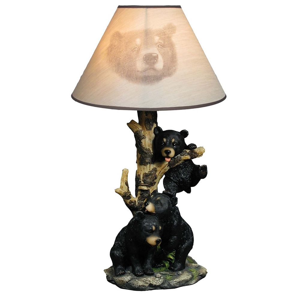 IH Casa Decor Follies Beargere Table Lamp With Shade