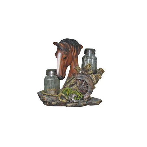 IH Casa Decor Horse Head- Salt And Pepper Shaker