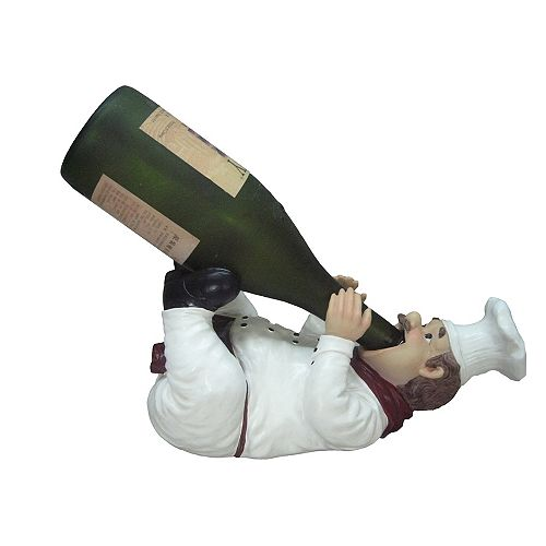 Wine Bottle Holder (Chef Chardonnay)
