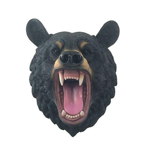 IH Casa Decor Territorial Terror Roaring Bear Head