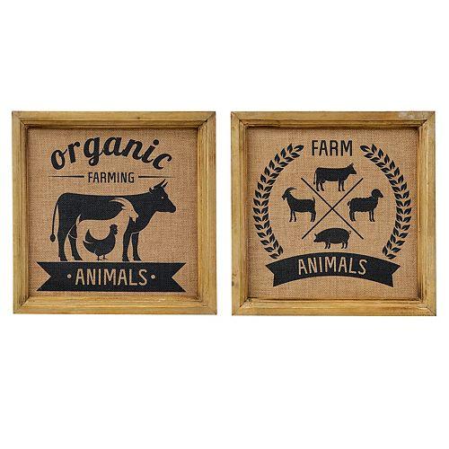 IH Casa Decor Farm Animal S - Wood Wall Art