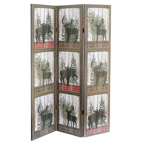 Double Sided Canvas Screen (Canadian Wildlife)