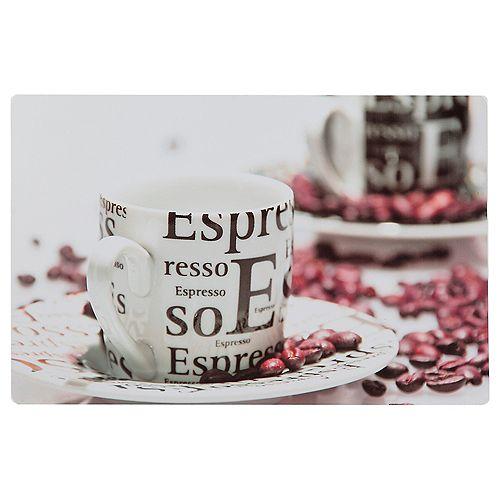 IH Casa Decor Plastic Placemat (Espresso)