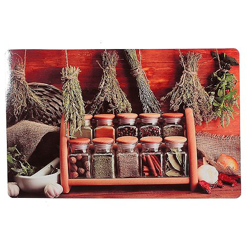 IH Casa Decor Plastic Placemat (Herbs And Spices)