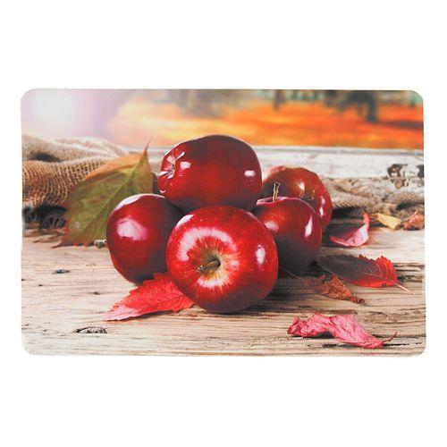 Plastic Placemat (Les Pommes)(Set Of 12)