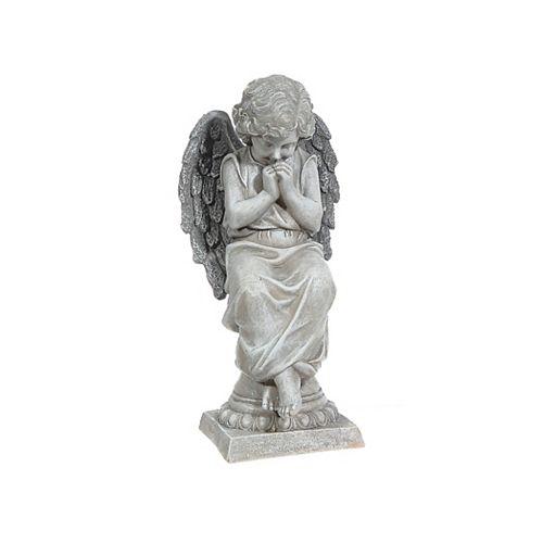 IH Casa Decor Polyresin Garden Figurine (Praying Angel)