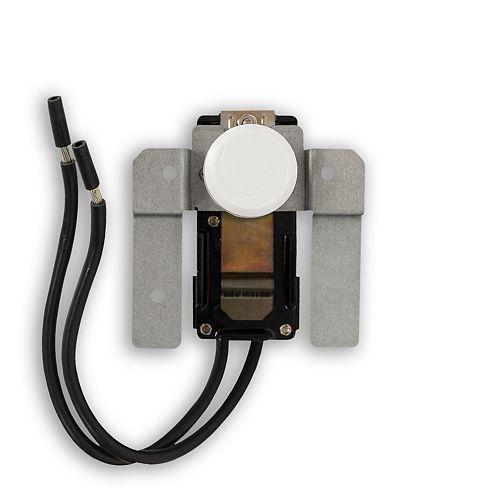 Thermostat White 1P Built-In (120-600V)