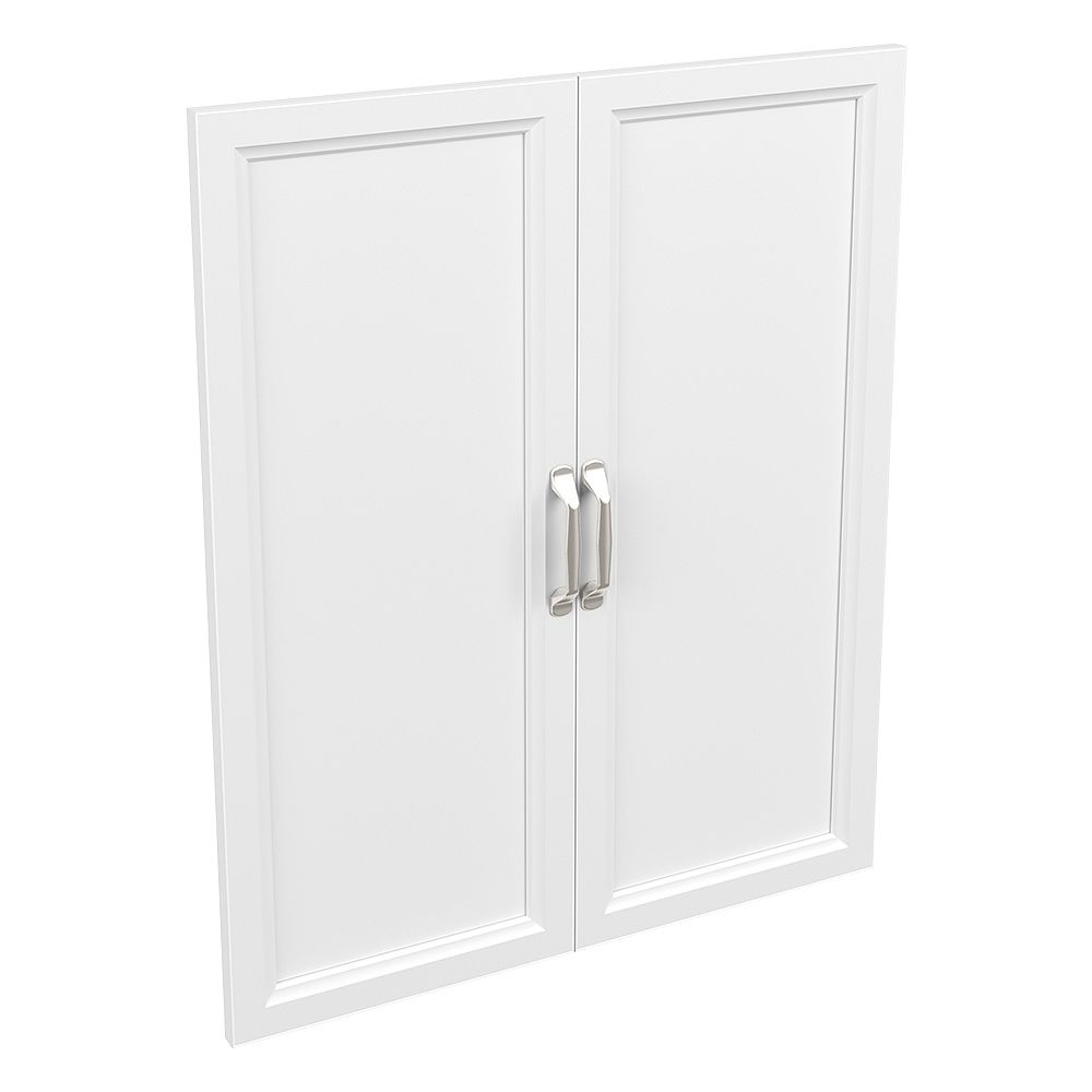 ClosetMaid Style+ 25 in. W x 30 in. H White Melamine Traditional Door Kit Wood Closet System