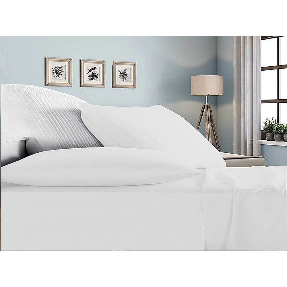 New Season Home 100% Rayon Bamboo Sheets Set All Season Ultra Soft Natural Bamboo Fiber Bedding Set Queen