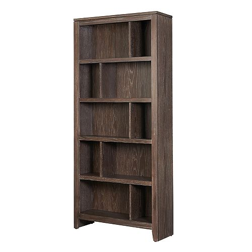 Linon Home Décor Products Kyler Large Bookcase EZ Assembly