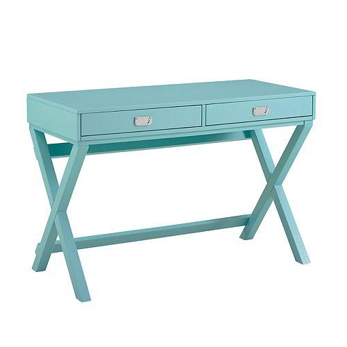 Posey Blue Writing Desk