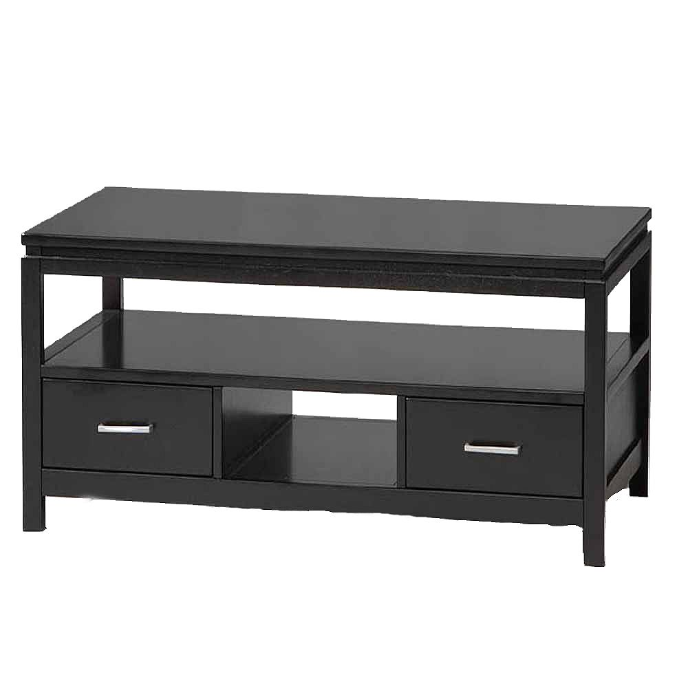 Linon Home Décor Products Ryn Black Coffee Table