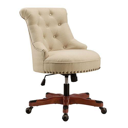Callum Beige Office Chair