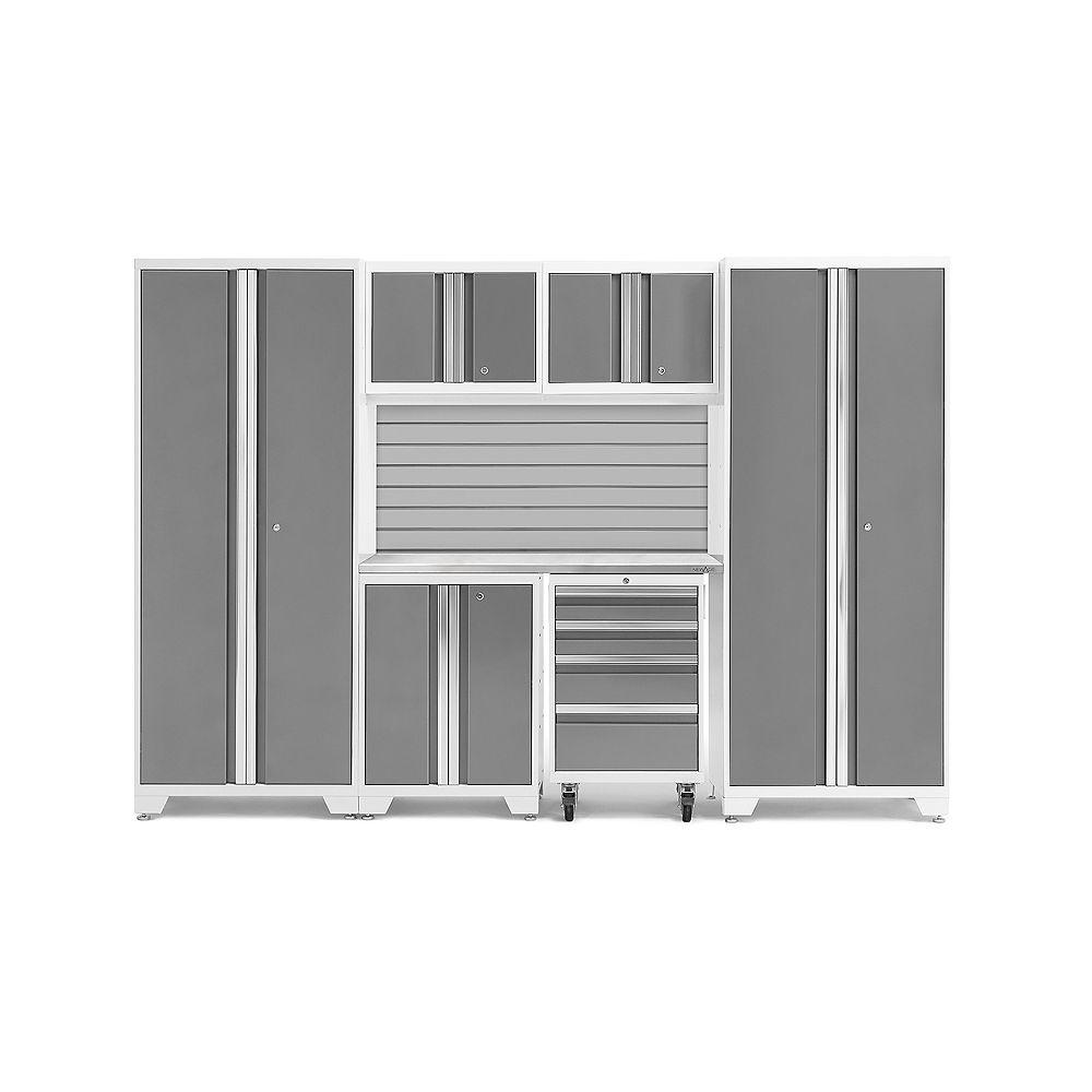 NewAge Products Série Bold Platine - Ensemble de 7 pièces