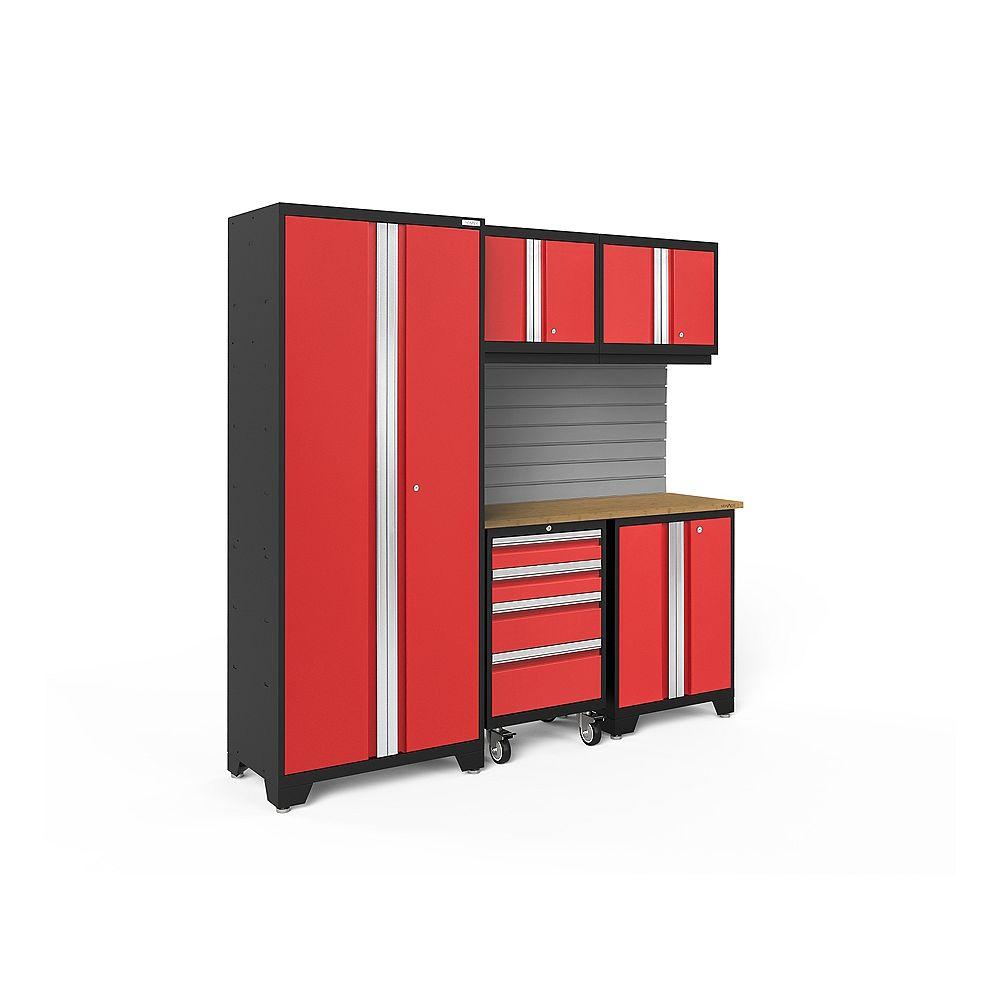 NewAge Products Série Bold Rouge - Ensemble de 6 pièces
