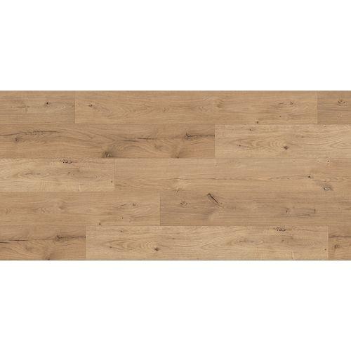 Revêtement de sol en stratifié, Chêne Lit de Rivière , 12mm x 7,6-po x 54,45-po, 17,24 pi2/boîte